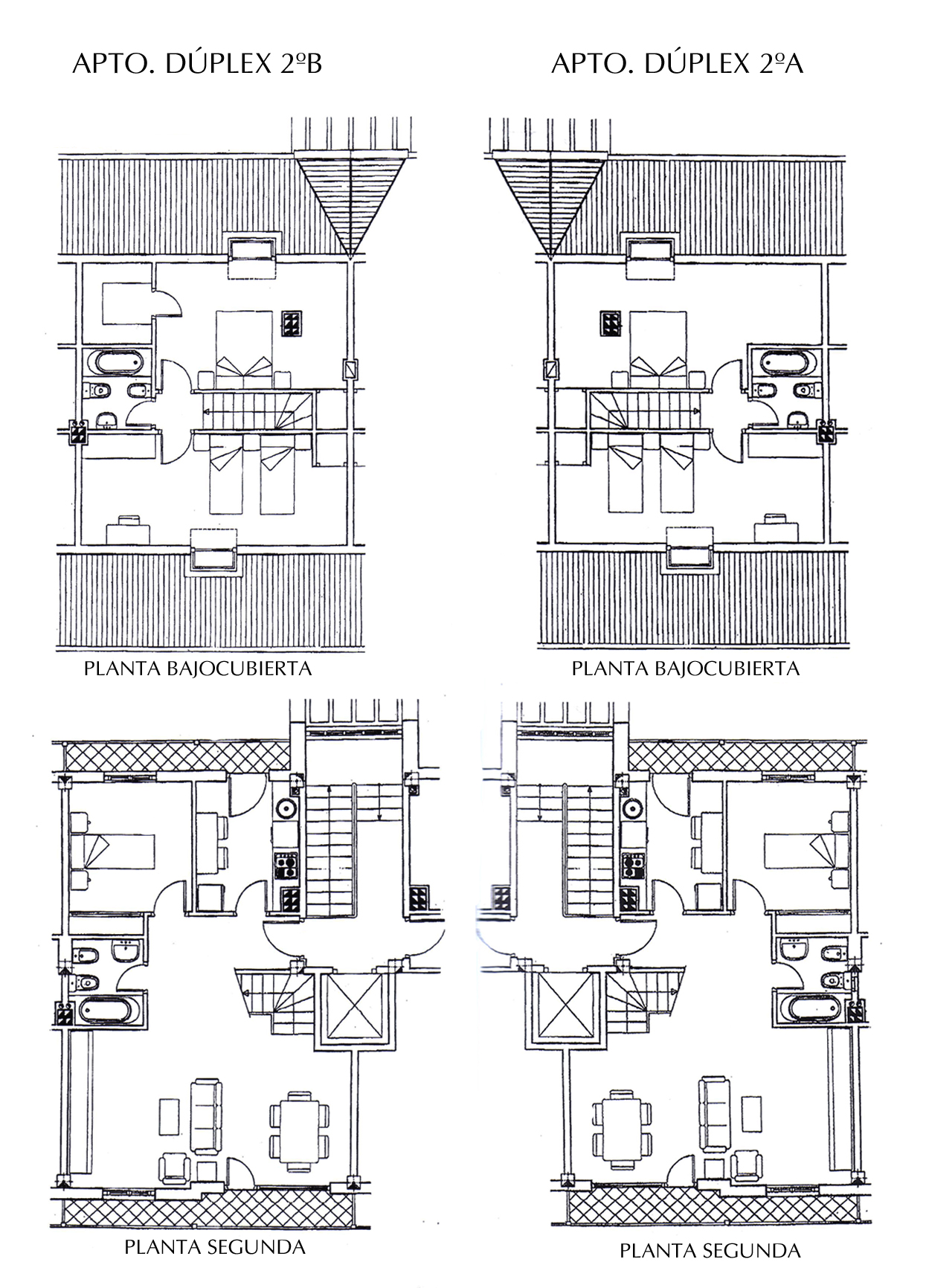 Plano Apartamento Dúplex